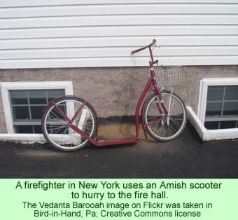 Amish scooter