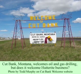 Cut Bank, Montana, welcome